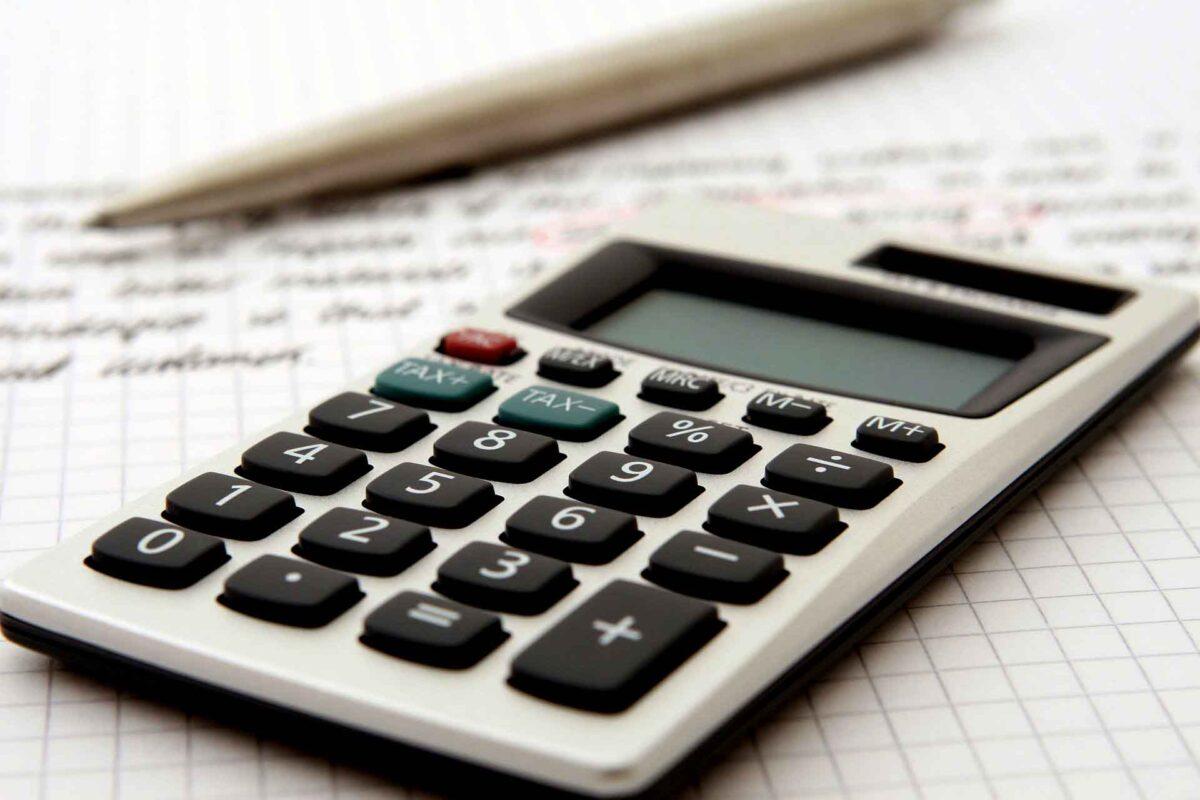 Accountant calculator Budget