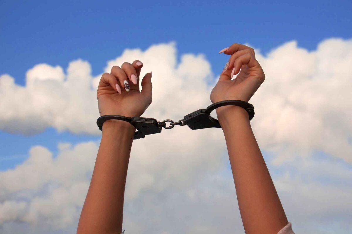 hands woman - Human Trafficking - Slavery