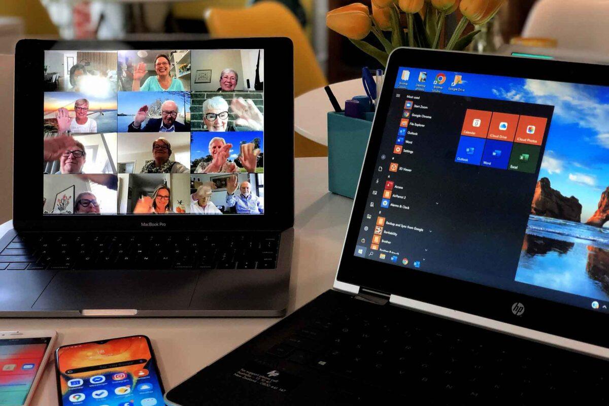 online-meeting-teleworking Zoom