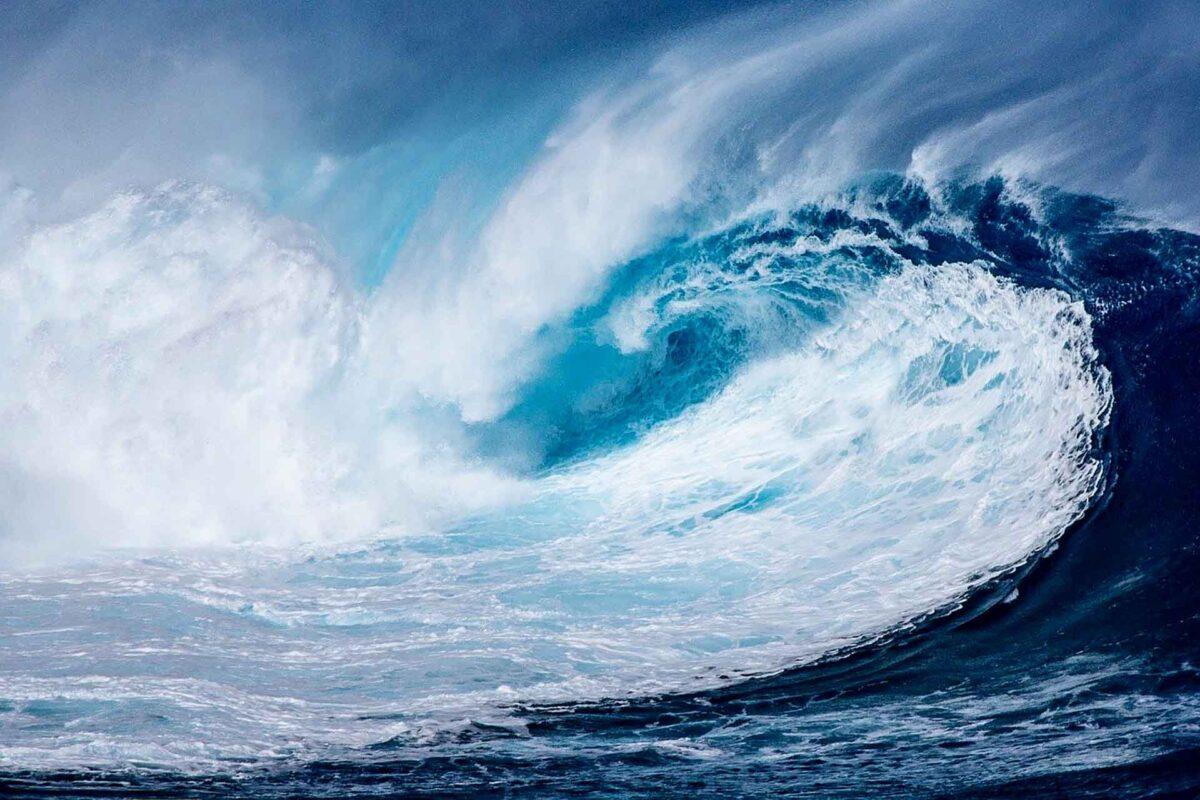 sea wave - tsunami