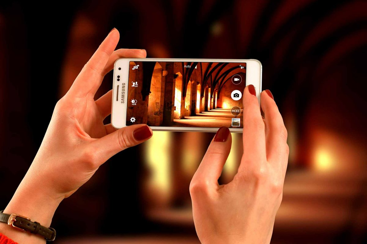 Smartphone photo European Culture