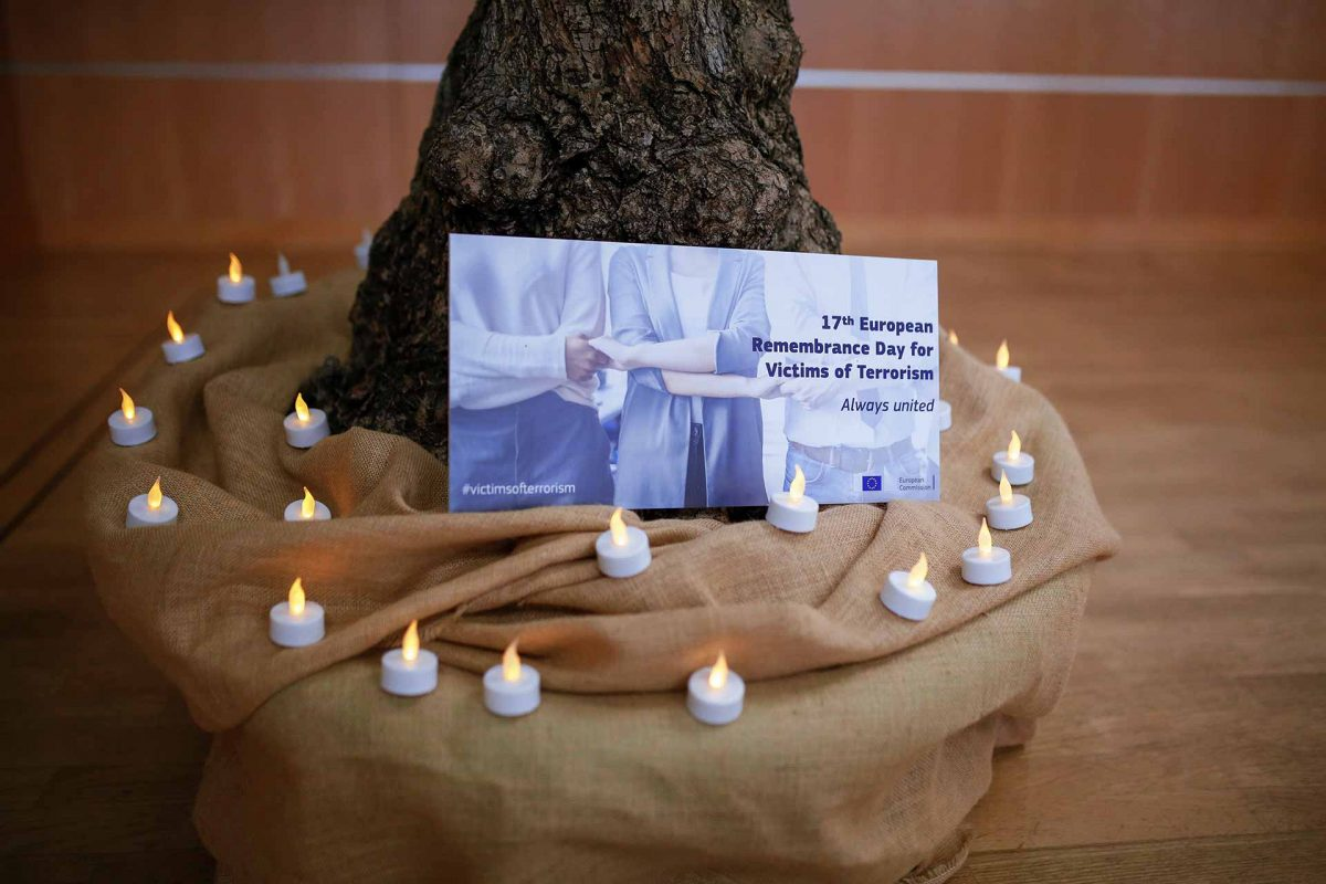 17th European Day of Remembrance of Victims of Terrorism
