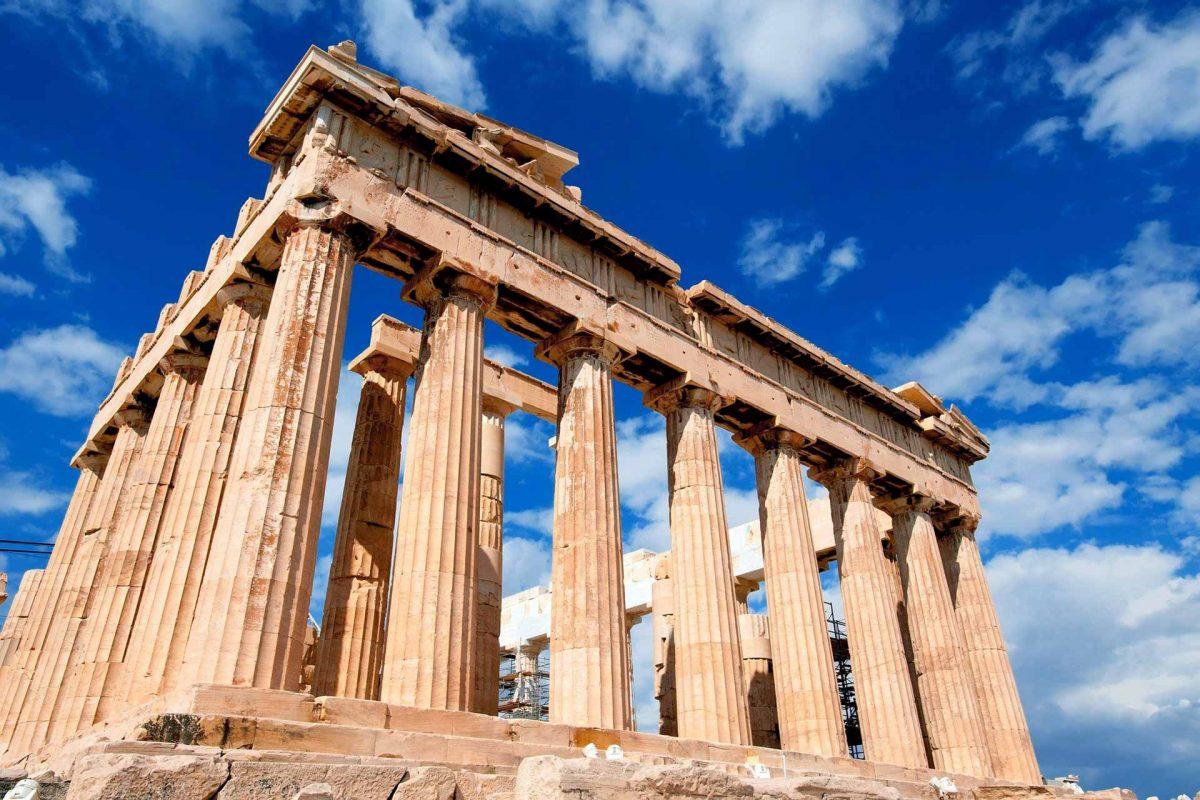 Athens Greece Acropolis Parthenon