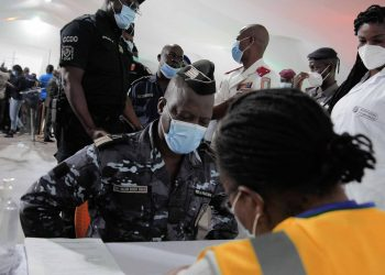 First vaccinations, Ivory Coast