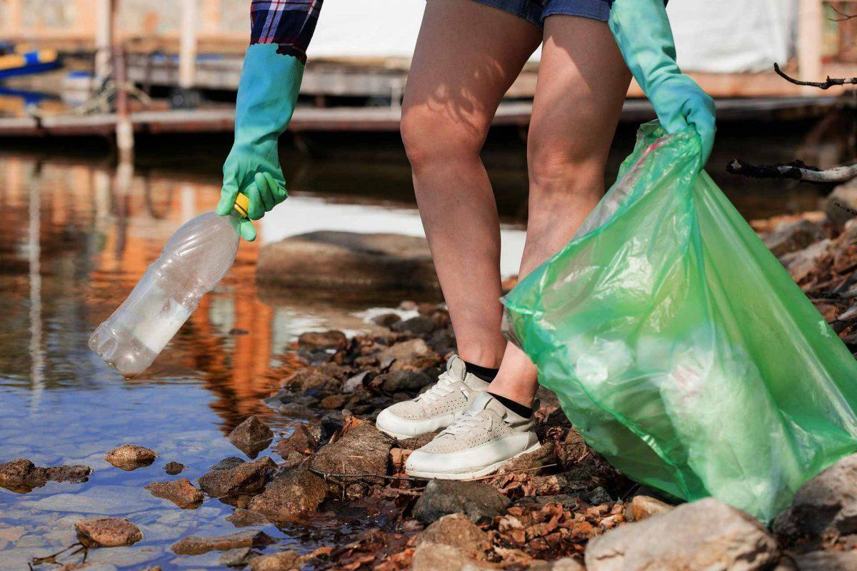 nature plastic pollution