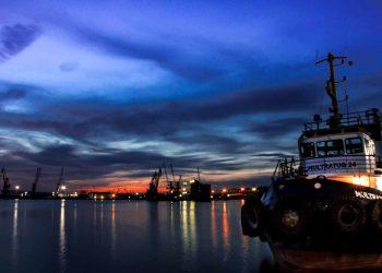 port Burgas Bulgaria